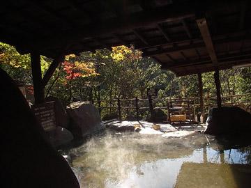 天ヶ瀬温泉の山荘「天水」